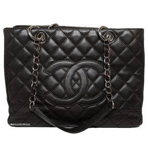 Chanel Dark Brown Grand Shopping Tote